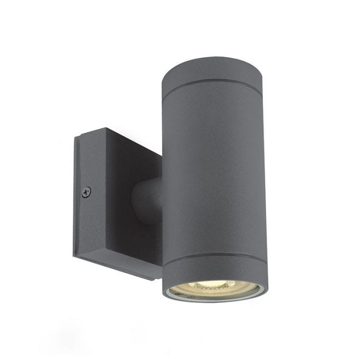Cylinder Outdoor Up Down Wall Light, Outdoor Cylinder Light
