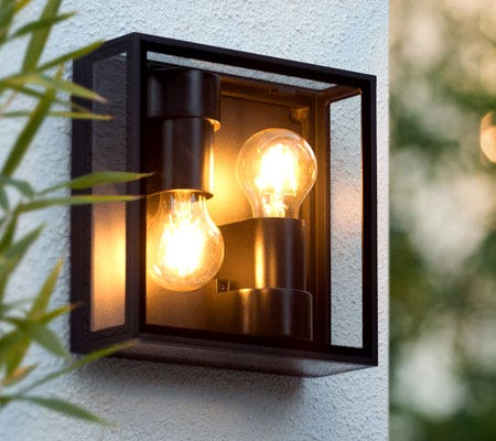 stylish outdoor lights by Belgian lighting manufacturer Lucide