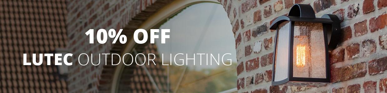 10 off Lutec Outdoor Lighting
