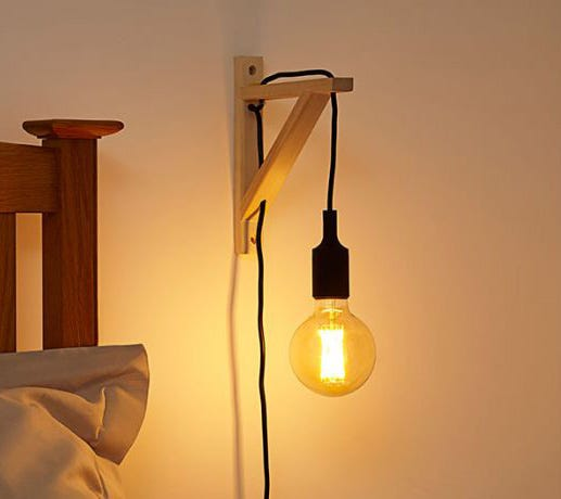 stylish wall lights by Belgian lighting manufacturer Lucide
