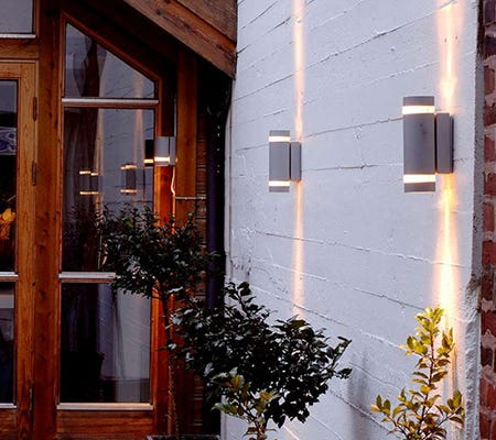 decorative outdoor wall lights