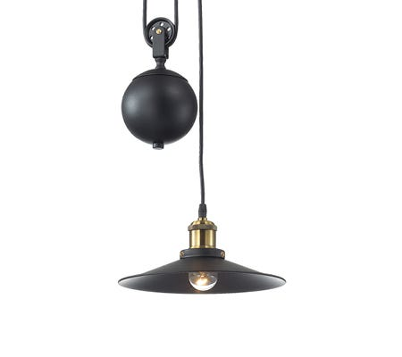 Rise and Fall Ceiling Pendants